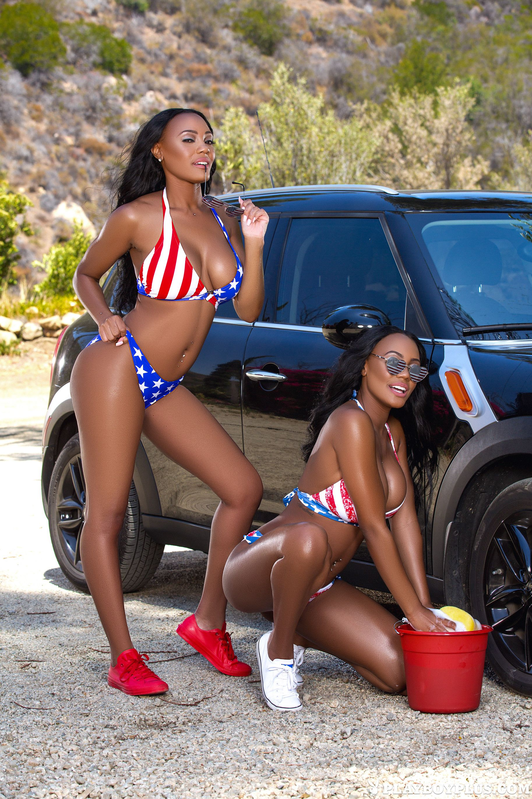Naked Bikini Car Wash