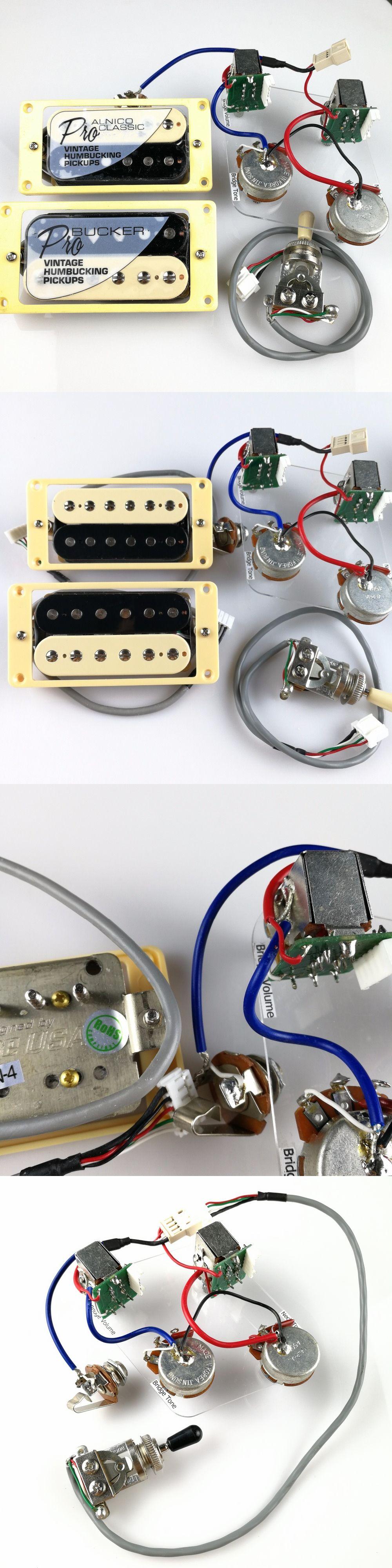 1 Set LP Standard ProBucker Alnico Electric Guitar zebra Humbucker ...