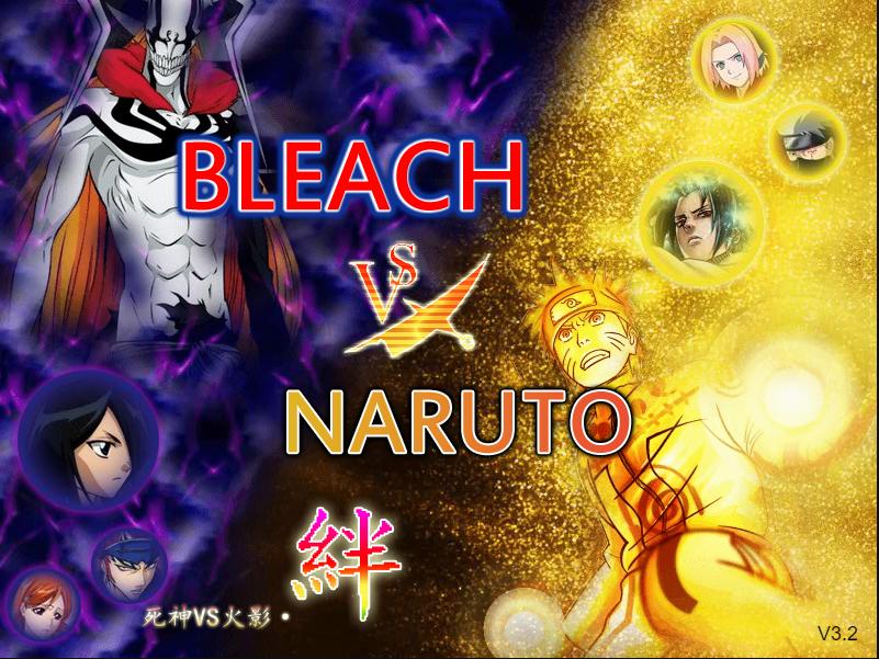Bleach vs Naruto 3.2 Naruto games, Naruto, Bleach