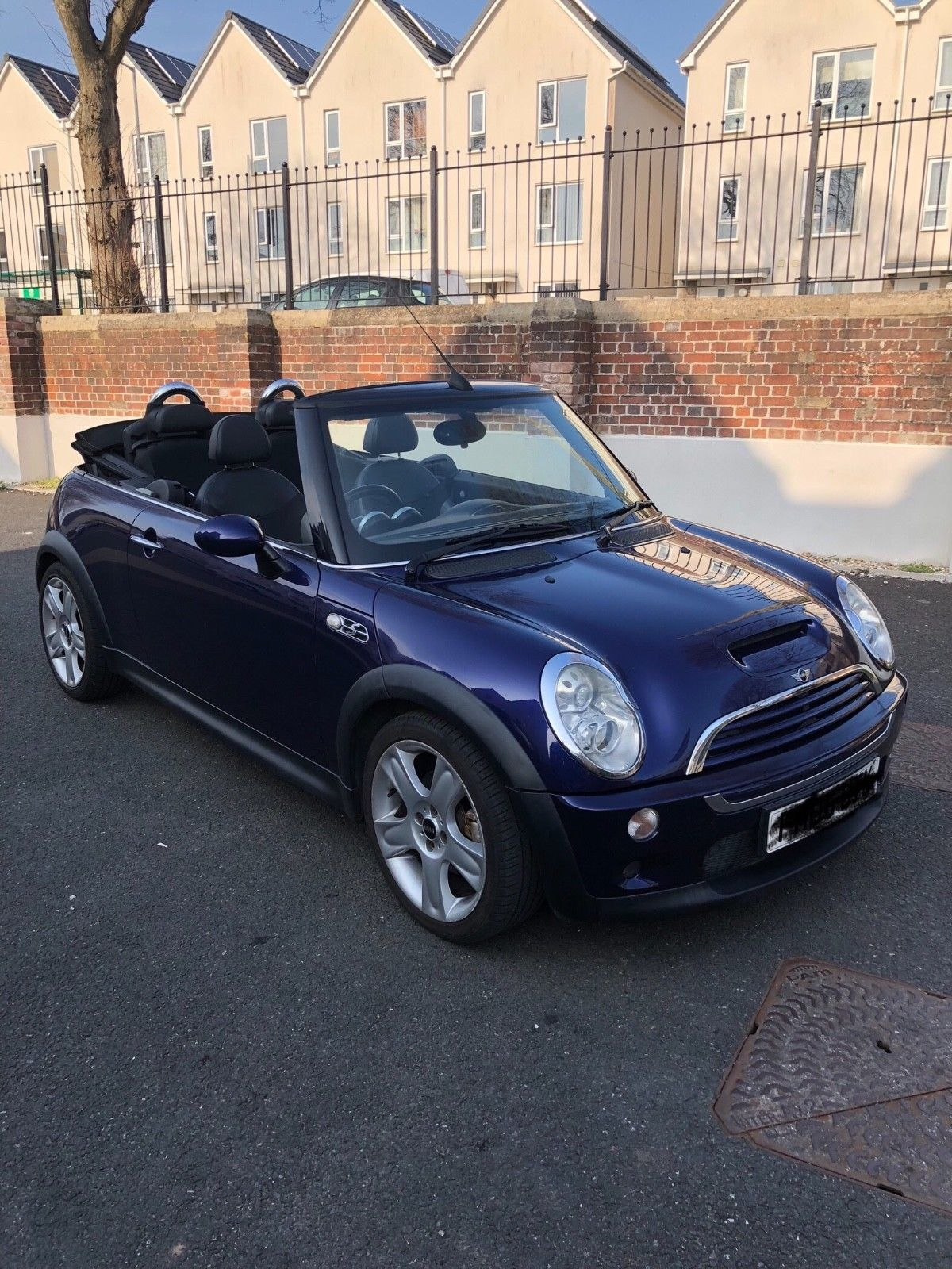 Mini Cooper S Convertible 2005 Purple Summer Fun Mini Cooper S Mini Cooper Convertible