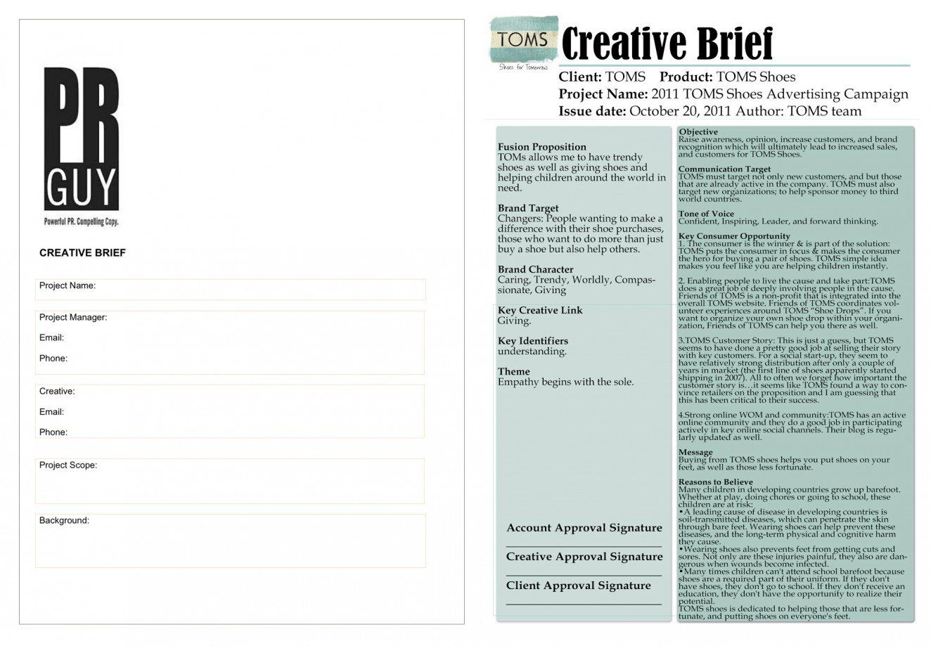 Writing An Effective Design Brief Awesome Examples And A Free