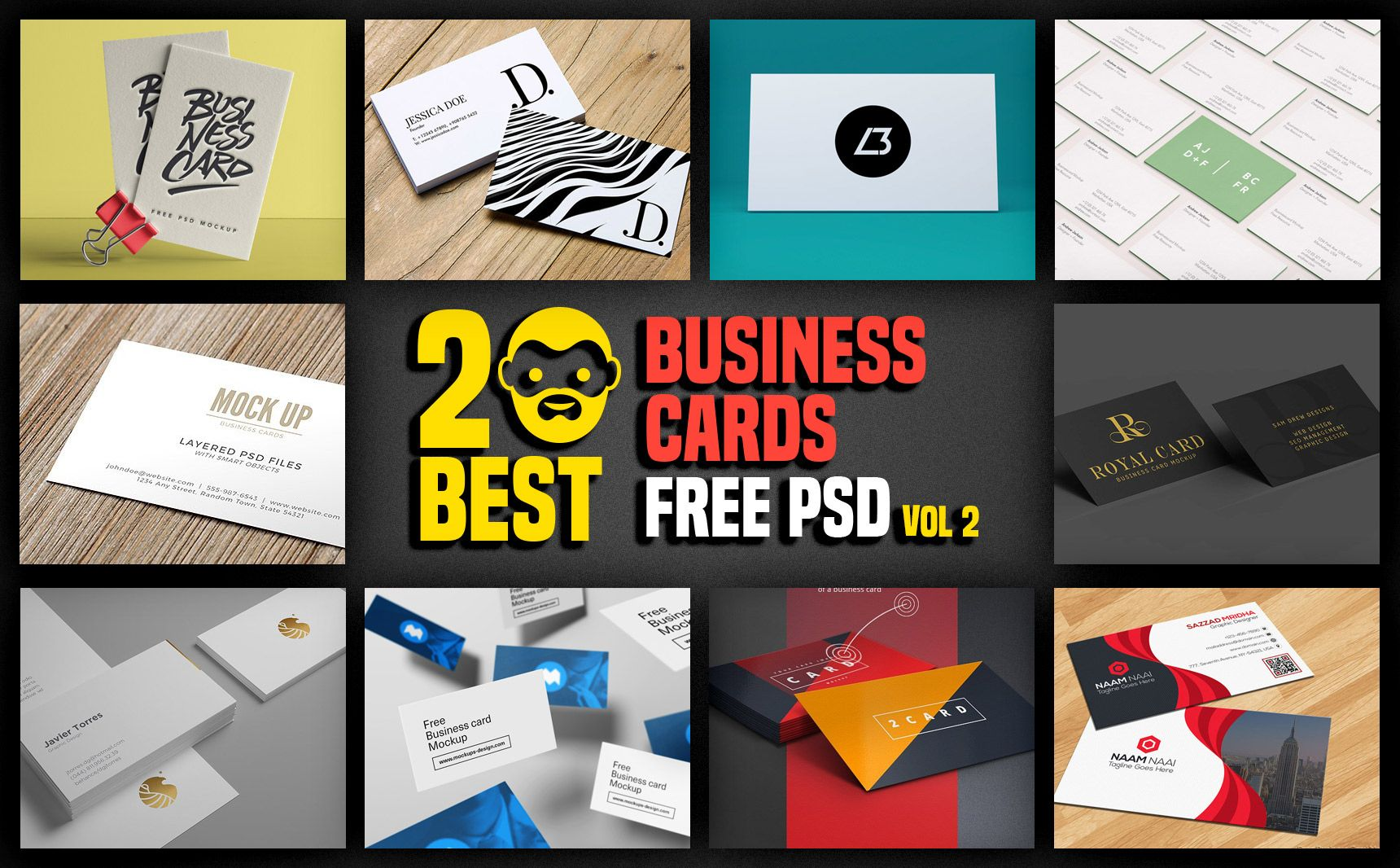 20 Best Business Cards Free Psd Vol 2 Psddaddy Throughout Business Card Maker Template S Free Business Card Maker Business Card Maker Business Card Creator