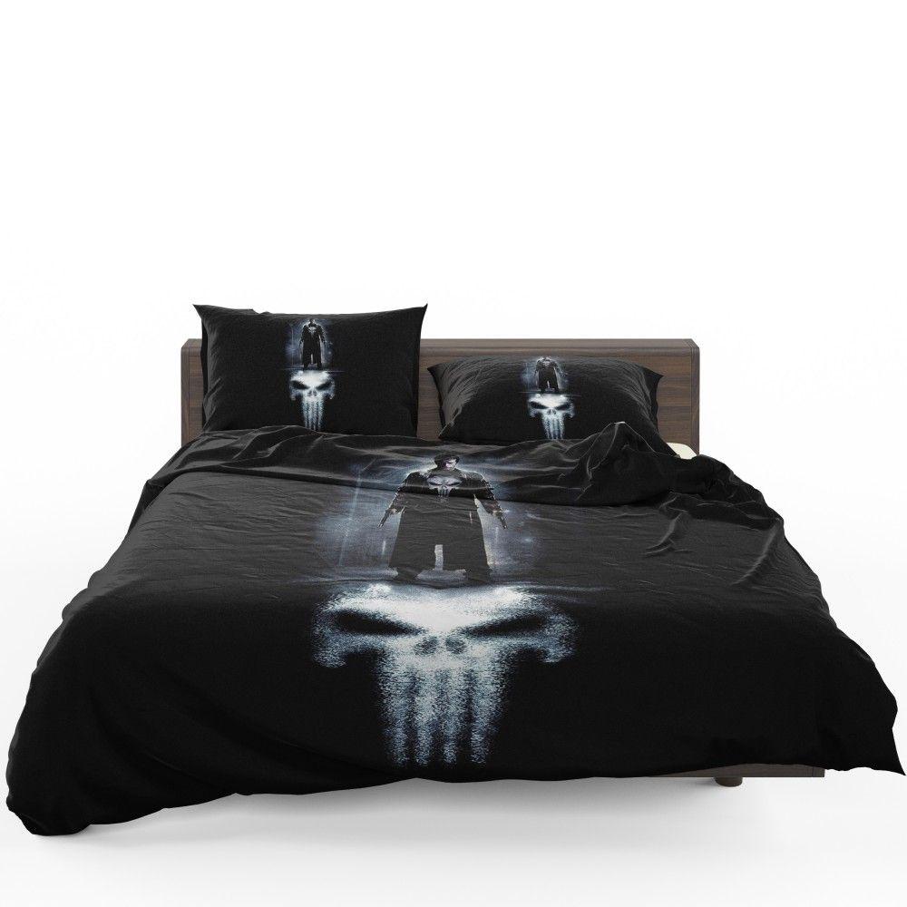 Marvel The Punisher Movie Thomas Jane Bedding Set Bedding Set