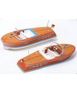 Preiser 17304. Motorbåde. 2 stk.