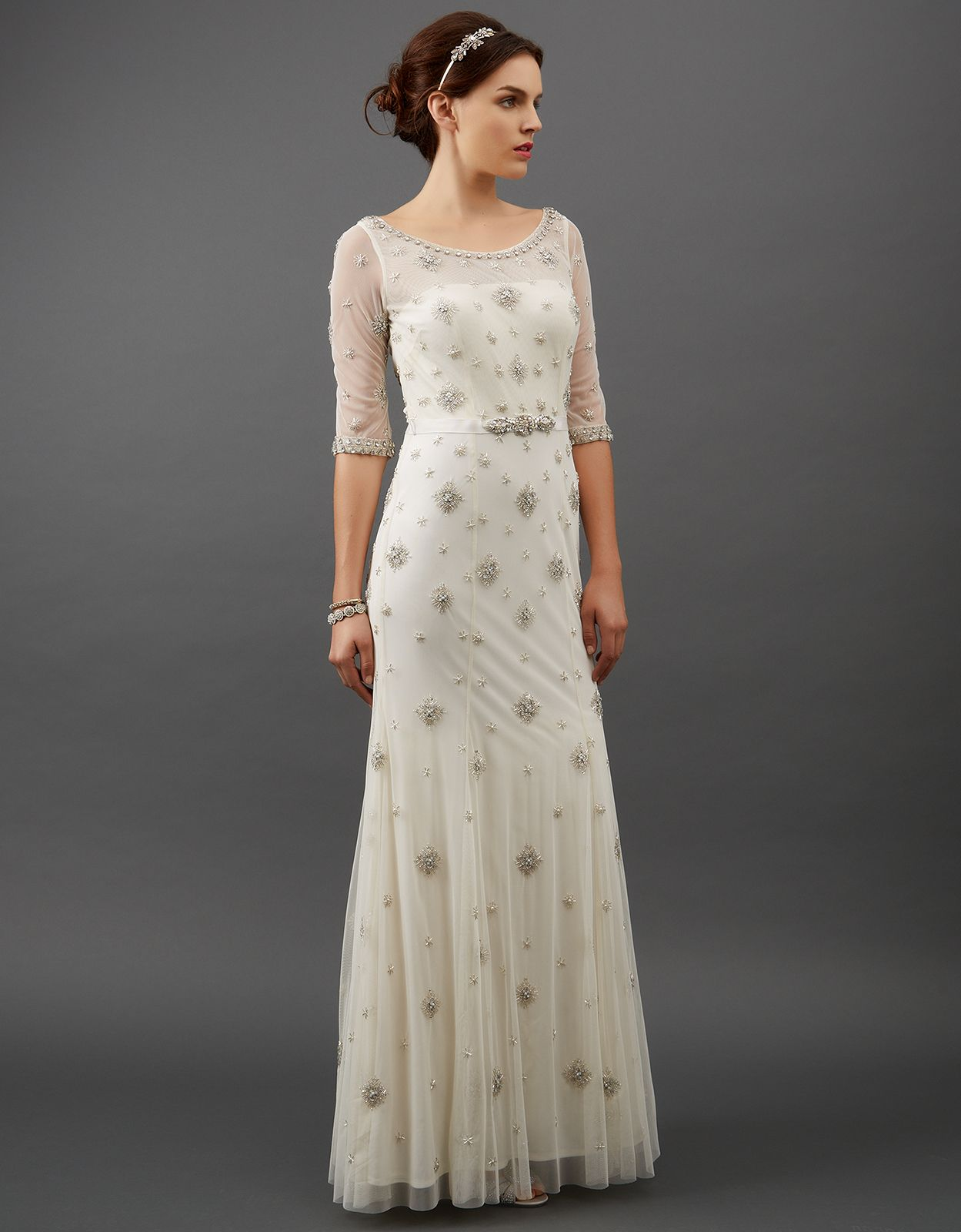 Starry Bridal Dress $1,225.00 from #Monsoon | Our Wedding ...