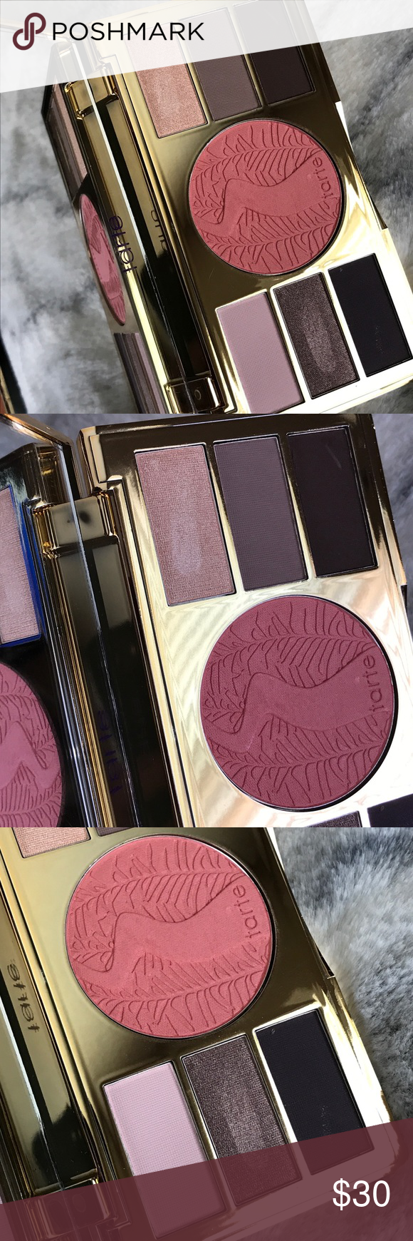 Tarte Be Your Own Tarteist Eye & Cheek Palette Tarte Be Your Own Tarteist. Amazonian clay eye cheek palette.  Eyeshadow Shades: Pink Beyond, Taupe For The Best, Dreams Plum True, Out Of This Pearl, Thistle Be The Day, Paint The Brown  Eyeshadow Size: Net Wt. 1g / 0.035 Oz. X6 Blush Shade: Talented Blush Size: 5.6g / 0.2 Oz. Condition: New, No Box, Looks like 2 shades were swatched (Taupe For The Best & Out Of This Pearl)  Smoke free, pet free home. Thank you for viewing my listing. tarte Makeup  #browneyeshadow