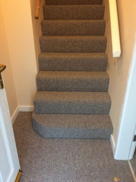 Charming Carpet Concrete Stairs   Google Search