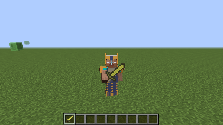 1 7 2]How to code Custom 3D armor Models, 3D Weapons or