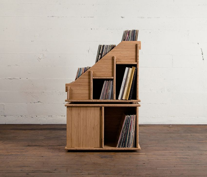 hiphile | Vinyl Storage Records | Pinterest | Shelving solutions ...