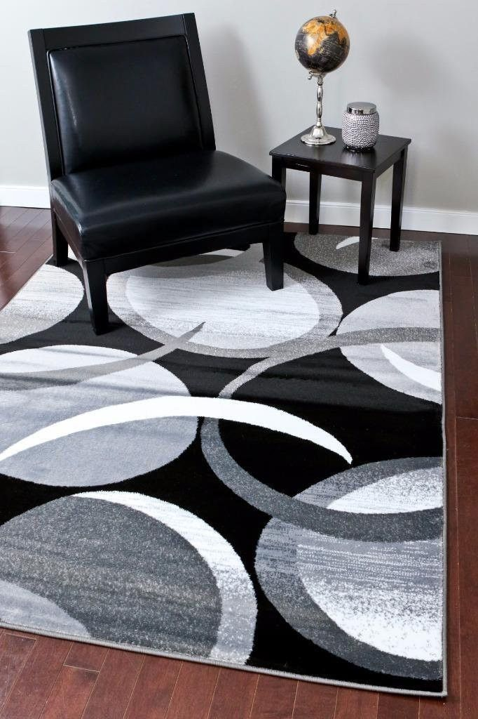 2062 gray abstract contemporary area rugs | cheap rugs