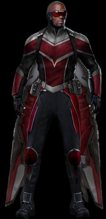 Falcon Tfatws Png By Darthspidermaul On Deviantart Marvel Artwork Superhero Marvel Cinematic