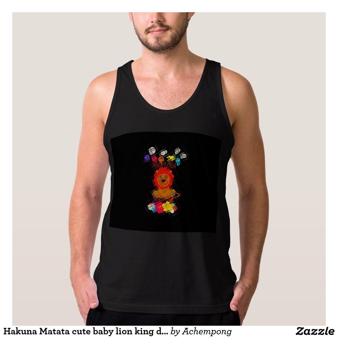 Design t shirt zazzle - Hakuna Matata Cute Baby Lion King Design T Shirt