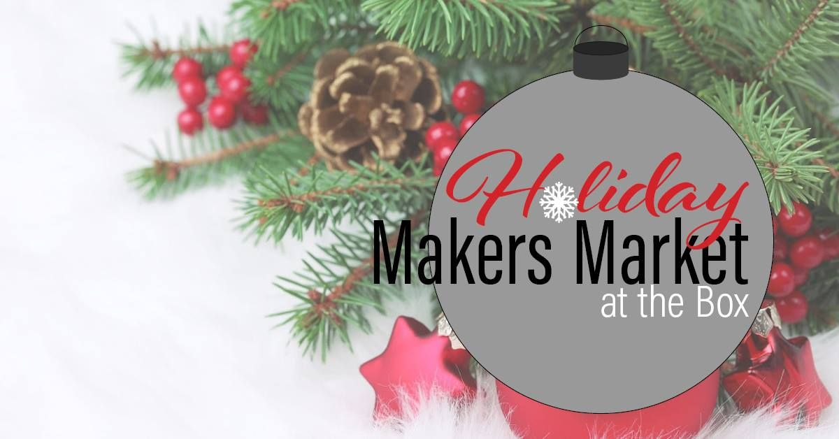 Artists & Makers will be setting up booth spaces throughout Box Factory for the Arts to create a fun and festive Makers Market just in time for the Holiday Season. Not … Read More ►