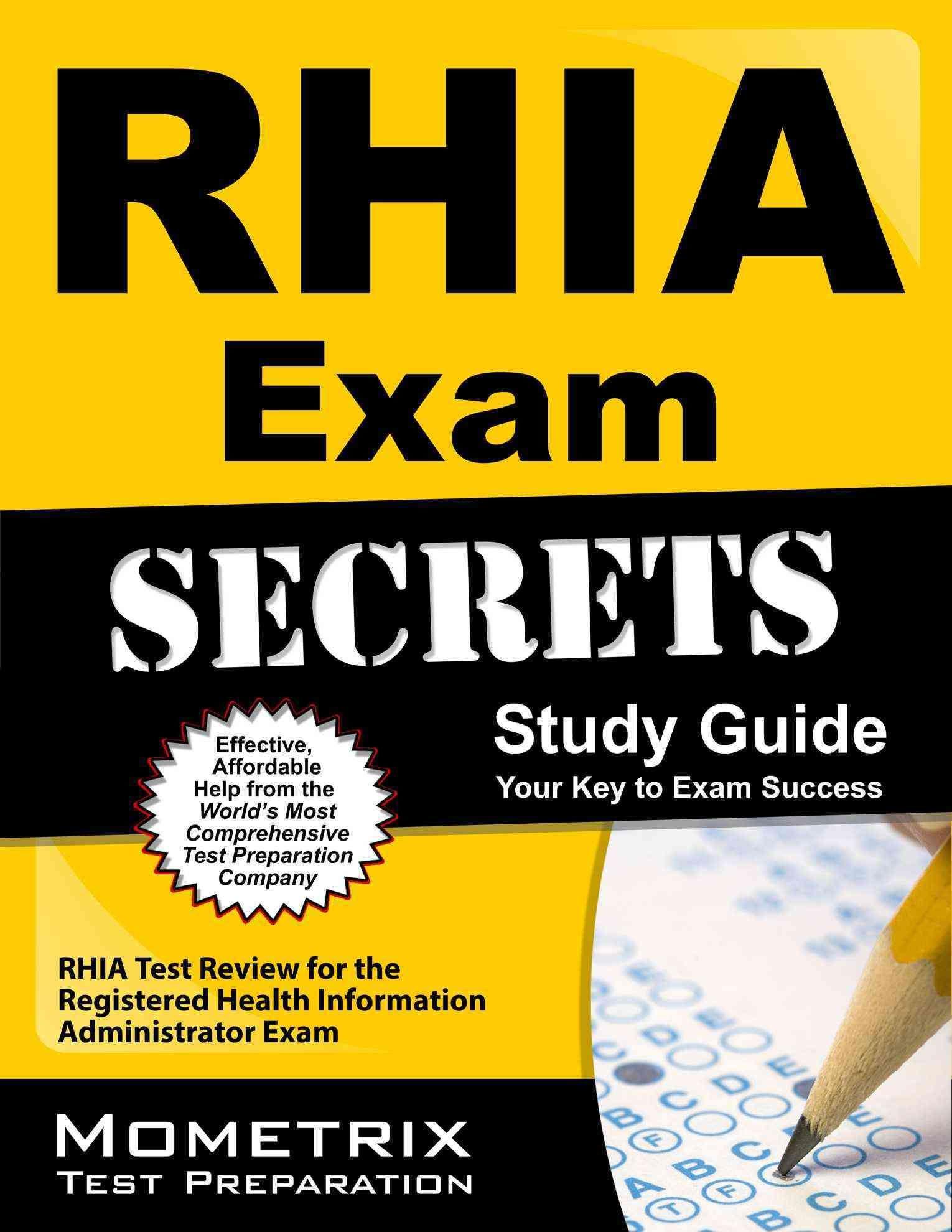Rhia exam secrets rhia test review for the registered health rhia exam secrets rhia test review for the registered health information administrator exam 1betcityfo Images
