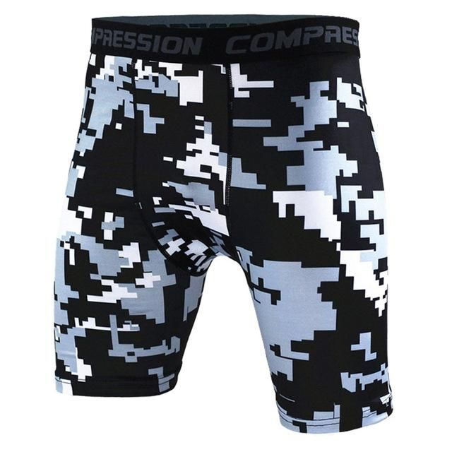 Men/'s Gym Sports Compression Wear Under Base Layer Shorts Pants Athletic Tights