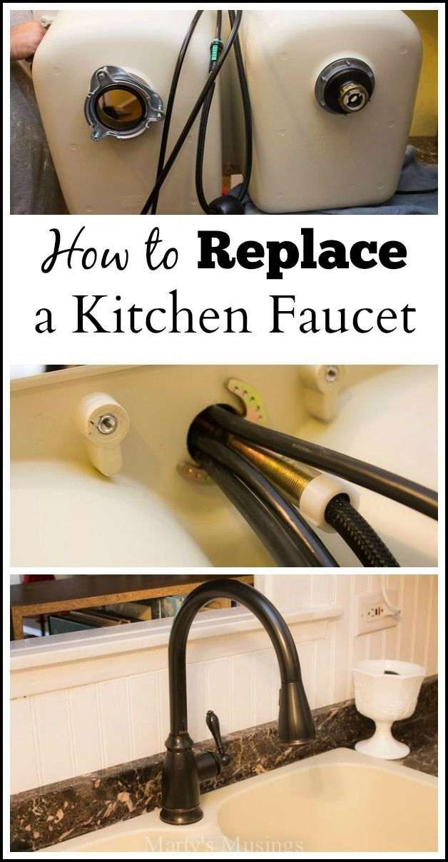 How To Replace A Kitchen Faucet Step By Step Instructions With Images Kitchen Faucet Diy Home Repair Diy Home Improvement