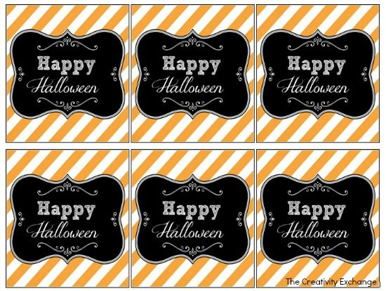 Free Printable Halloween Tags & Labels {Printable of the Month ...