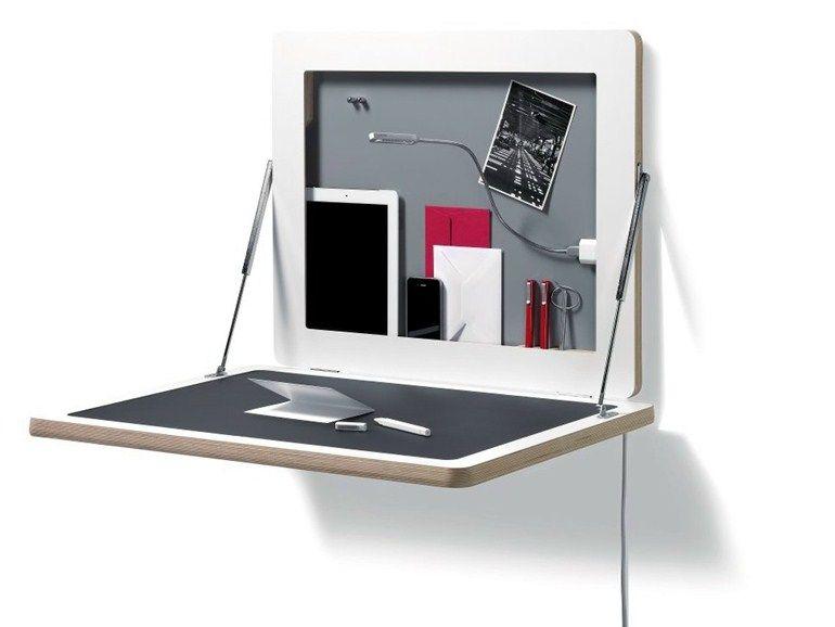 Escrivaninha / quadro branco FLATFRAME by Müller Möbelwerkstätten | design Michael Hilgers