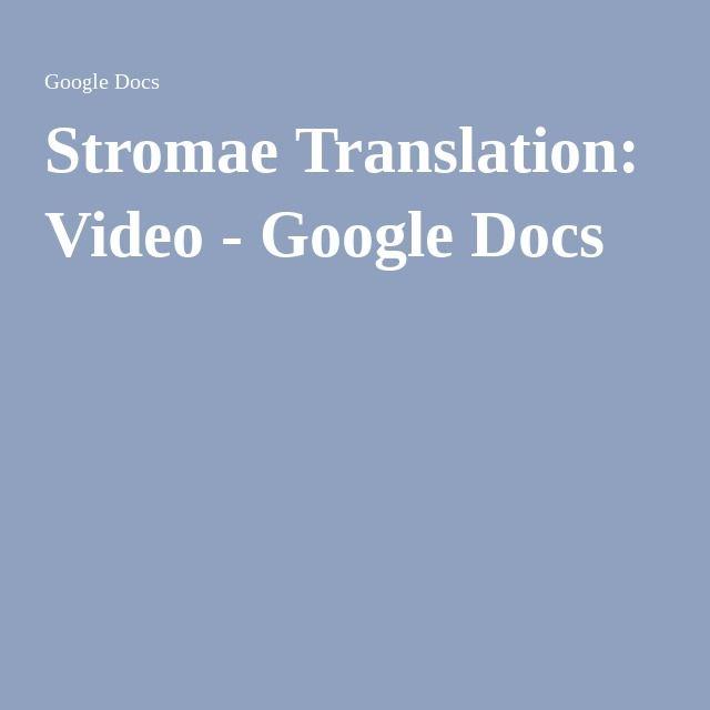 Stromae Translation Video The Black Pass Video Google Translation Video