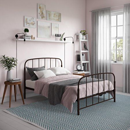 Home With Images Metal Bed Frame Metal Beds Metal Platform Bed