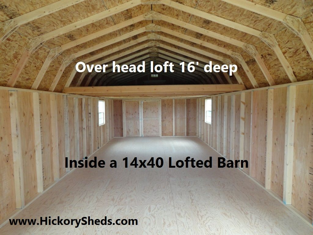 Old Hickory Sheds Lofted Barn Lovely Tiny Homes In 2019