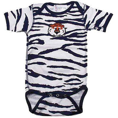 timeless design 24a04 e7c24 Auburn Tigers Infant Animal Print Creeper - White | meemaw ...