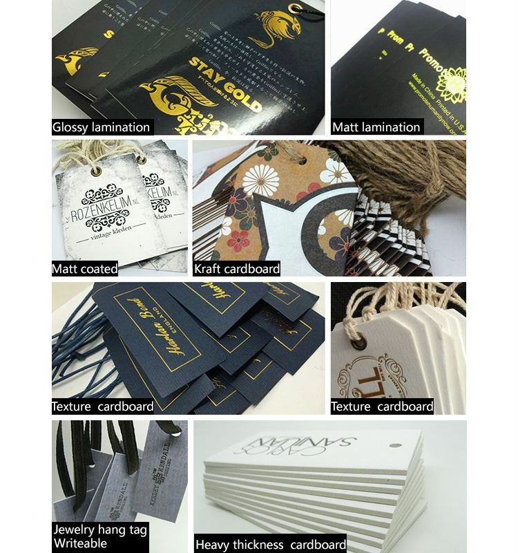 hang tags for clothing line
