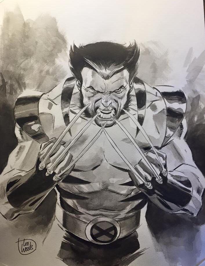 """""""Let's go Bub!"""" - Wolverine by Lee Weeks"""