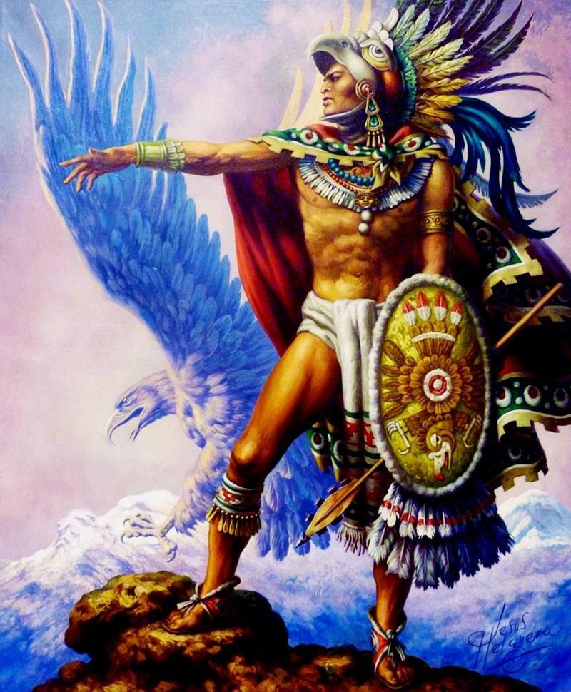 Ten Facts You Didn T Know About Cuauhtemoc Final Aztec Emperor Aztec Art Aztec Warrior Mexican Artwork
