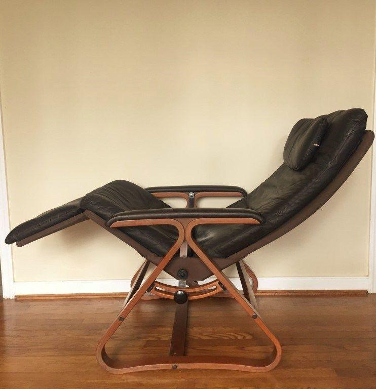 zero gravity lounge chairplycraft  chair mid century