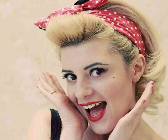 38 Schönsten Bild Of Pin Up Frisuren Kurze Haare #Bild #Frisuren