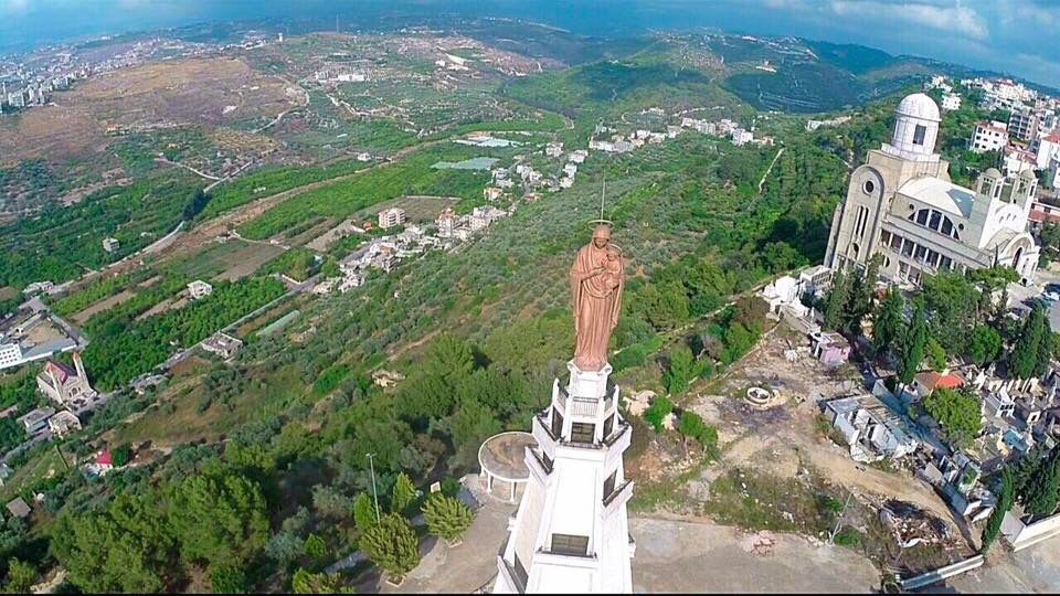 Our Lady of Mantara or The Wait, Maghdouché, Lebanon | Panoramic views,  Lady, Sacred