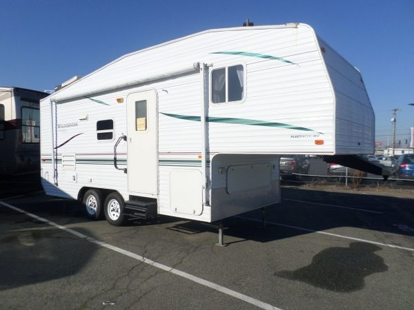 2001 Fleetwood Wilderness 23 Rv For Sale Used Rv For Sale