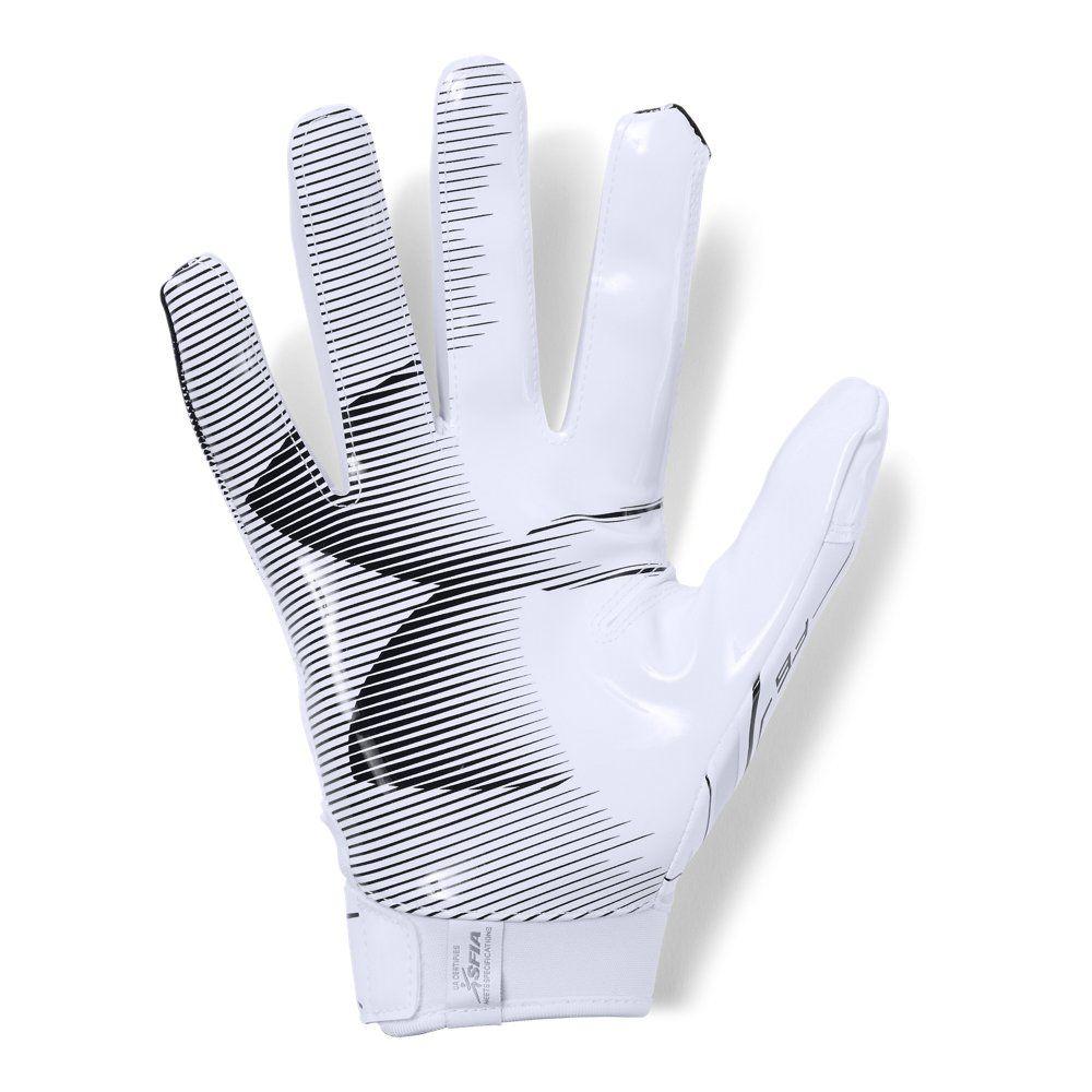 Men S Ua F6 Football Gloves In 2020 Football Gloves Gloves Under Armour