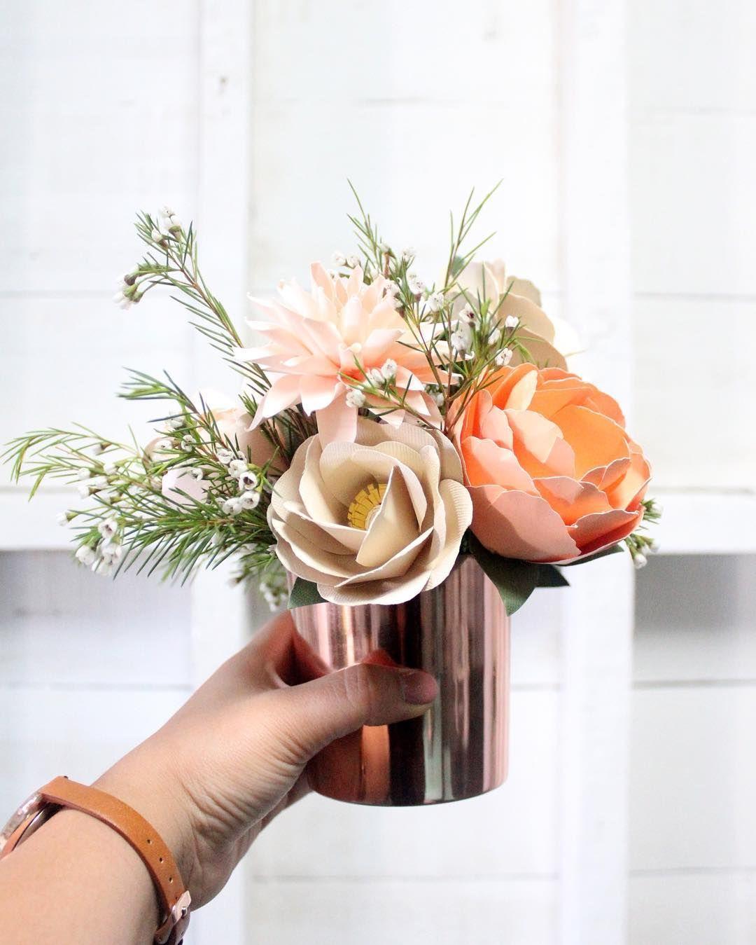 Paper Flower Arrangement Ideas: Pin By Alexandra Lupanova On Paper Magic