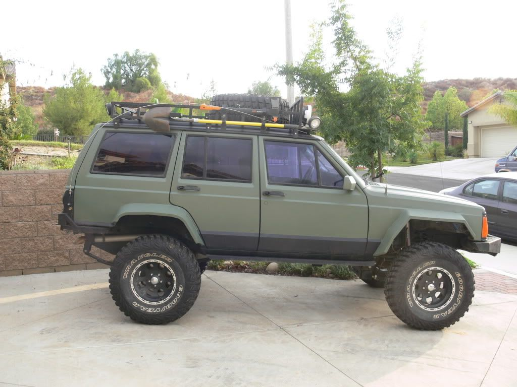 Roof Rack Or Rear Bumper For Spare Tire Jeep Cherokee Forum Jeep Cherokee Roof Rack Jeep Cherokee Jeep Xj Mods