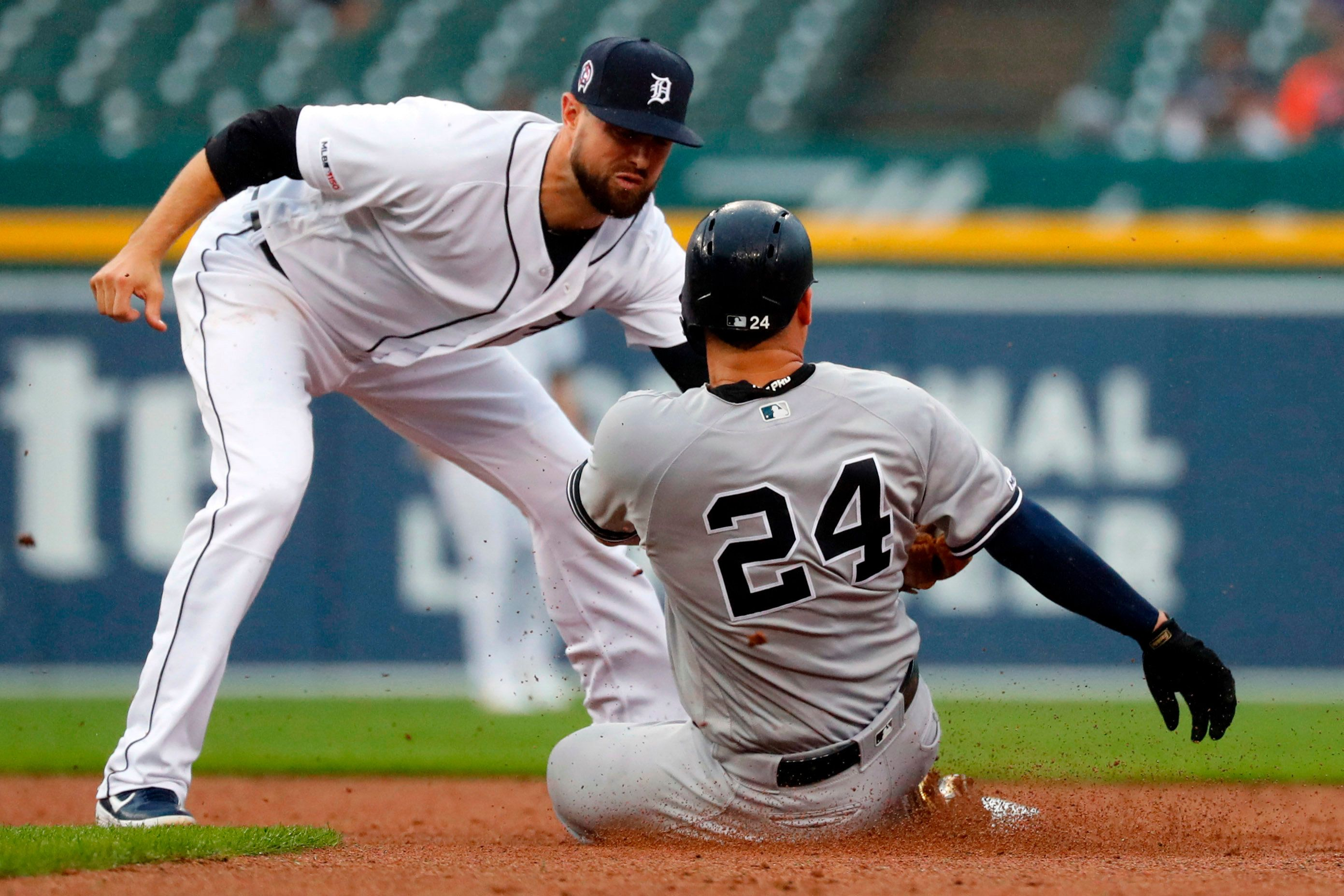 Injuries Mar Yankees Doubleheader Sweep Of The Tigers Yankees Injury Latest World News