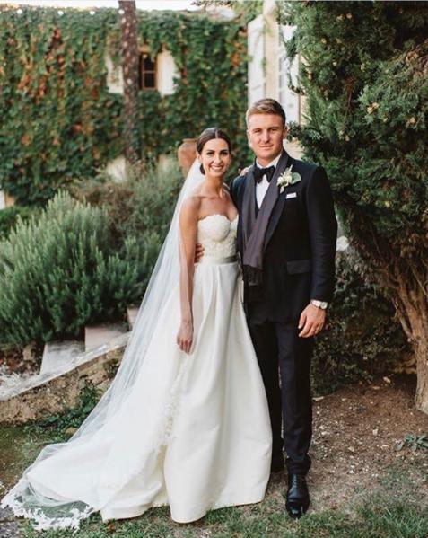 Jason Roy S Wedding Suit By Mccann Bespoke Tailors Wedding Suits England Cricket Team Wedding Dresses