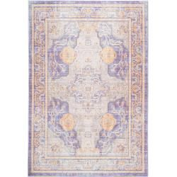 Photo of benuta rug Visconti multicolor / blue 200×300 cm – vintage rug in used look benuta