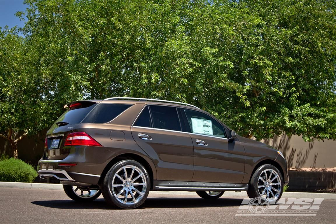 Customized By Wheel Specialists Mercedes Benz Ml350 Custom Mercedes Benz Mercedes Ml350