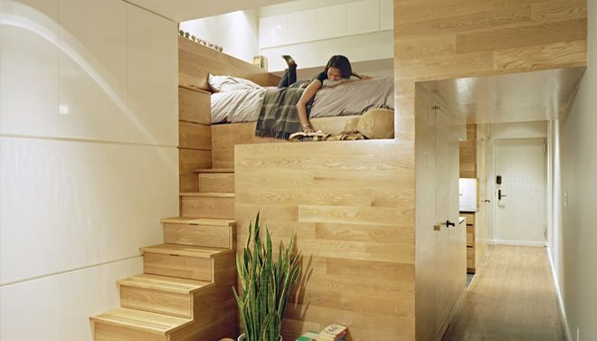 Slaapkamer met vide Fotospecial Wohnzimmer Pinterest Wohnzimmer - hochbetten erwachsene kleine wohnung