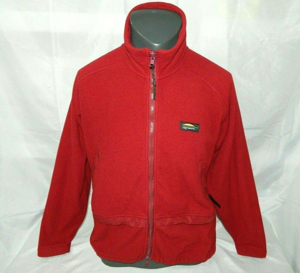 Chlorophylle Tech Clothing Canada Mens XL Full Zip Fleece
