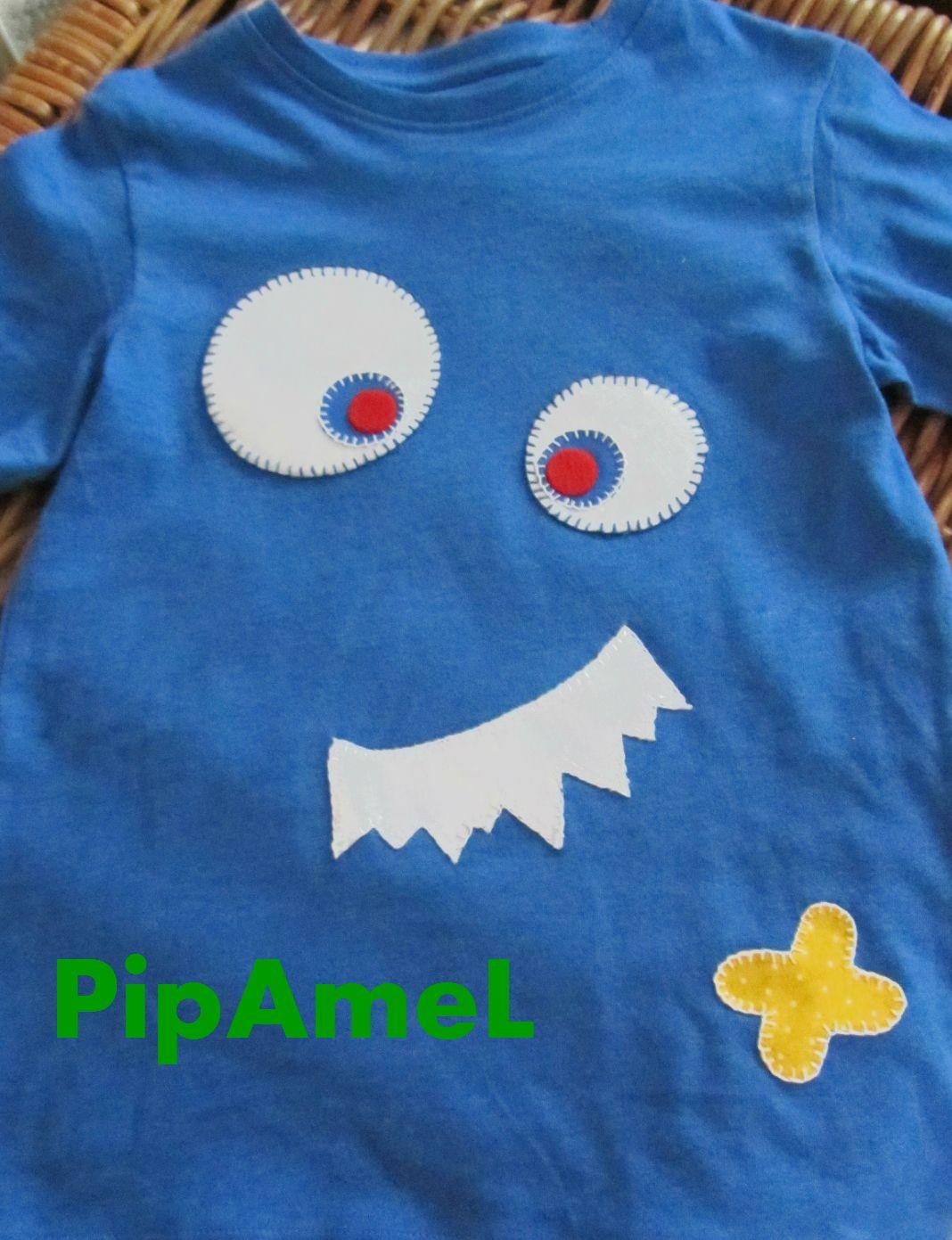 Camiseta monstruo para niños. | pijamas niños | Pinterest ...