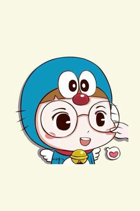 Gambar Wallpaper Doraemon Love  kid wallpaper