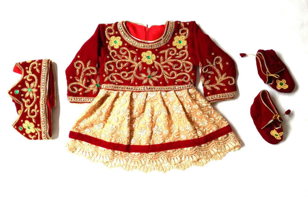 Red Pasni Frock Set Frocks For Girls Baby Girl Frocks
