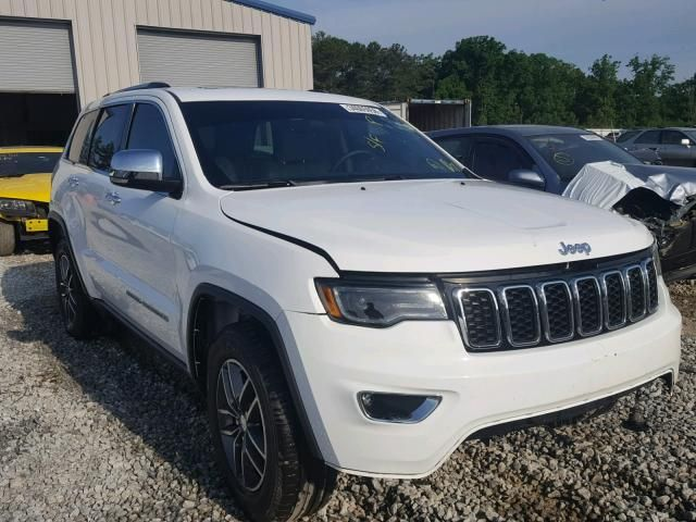 Salvage 2018 Jeep Grand Cherokee Limited Salvage Suv Auction
