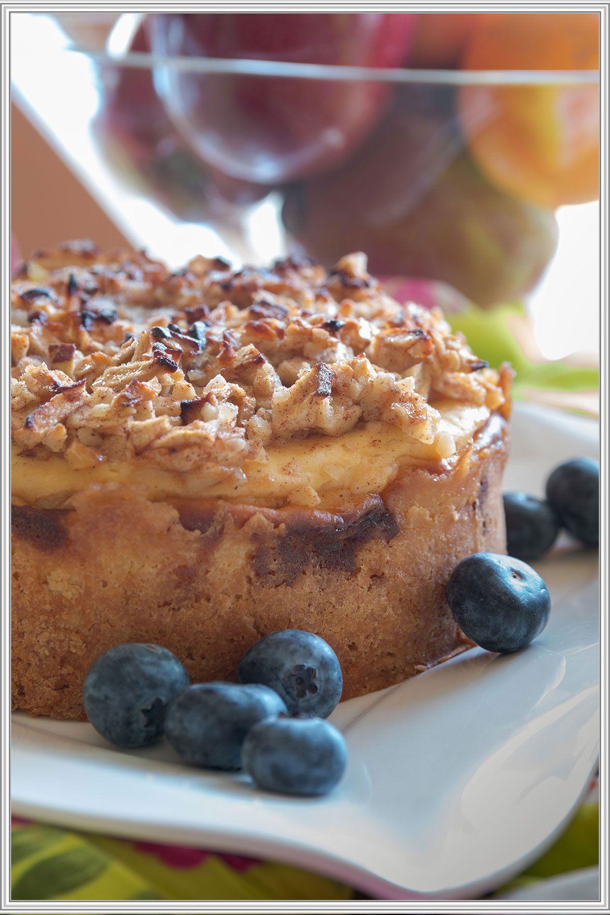 Kleiner Apfel Kase Traum Kleine Kuchen Backen Kleine Kuchen Rezepte Rezepte