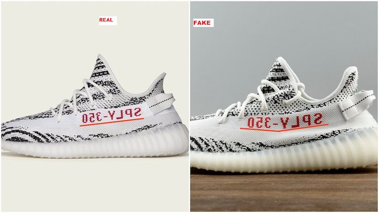 How to Spot Fake Yeezy's | Fake yeezys, Adidas yeezy boost, Adidas ...