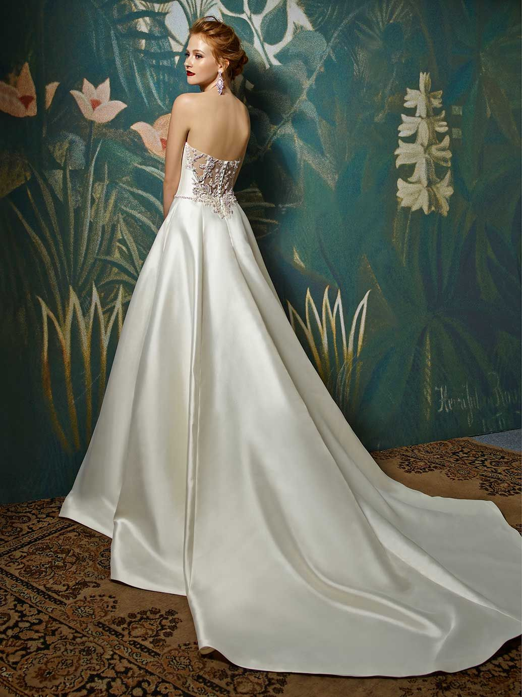blue by enzoani juniper front view wedding finery