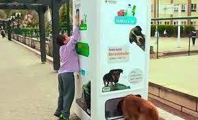 Productores en Uruguay - @productoresUy:    Máquinas expendedoras para alimentar a perros y...